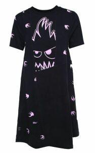 McQ Alexander McQueen Cut-up Swallow Monster Cotton-jersey Tshirtdress