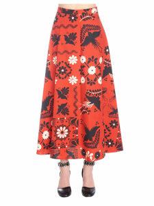 Red Valentino terrazzo Decorato Skirt