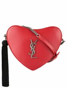 Saint Laurent YSL heart bag - Red
