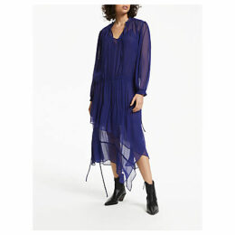 AND/OR Frankie Dress, Blue