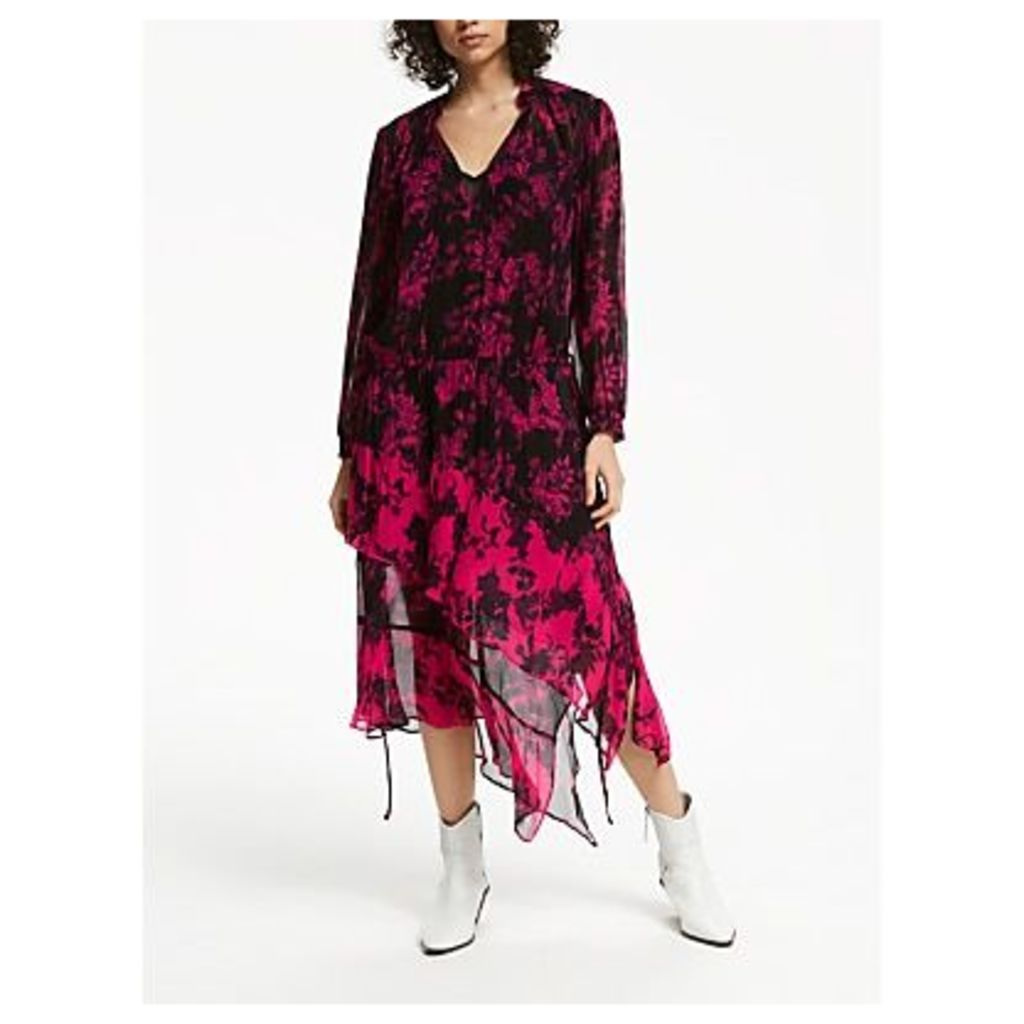 AND/OR Frankie Dress, Pink Floral