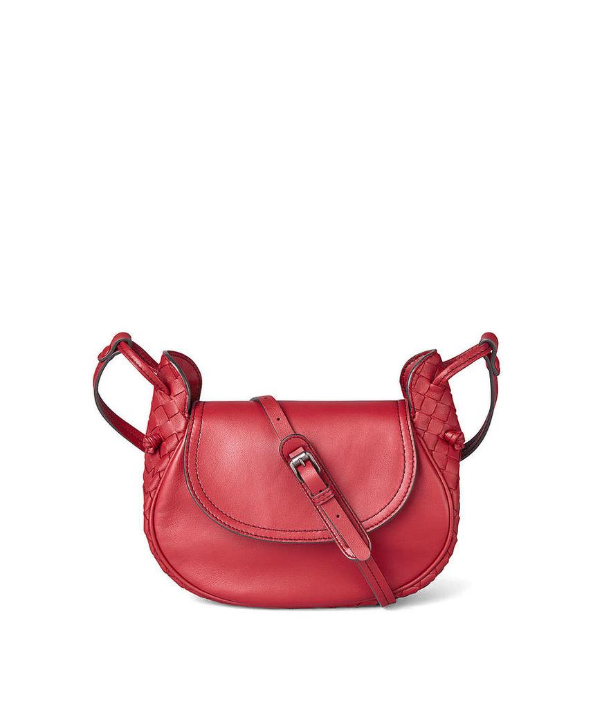 Bottega Veneta Bottega Veneta Intrecciato Nappa Crossbody Bag
