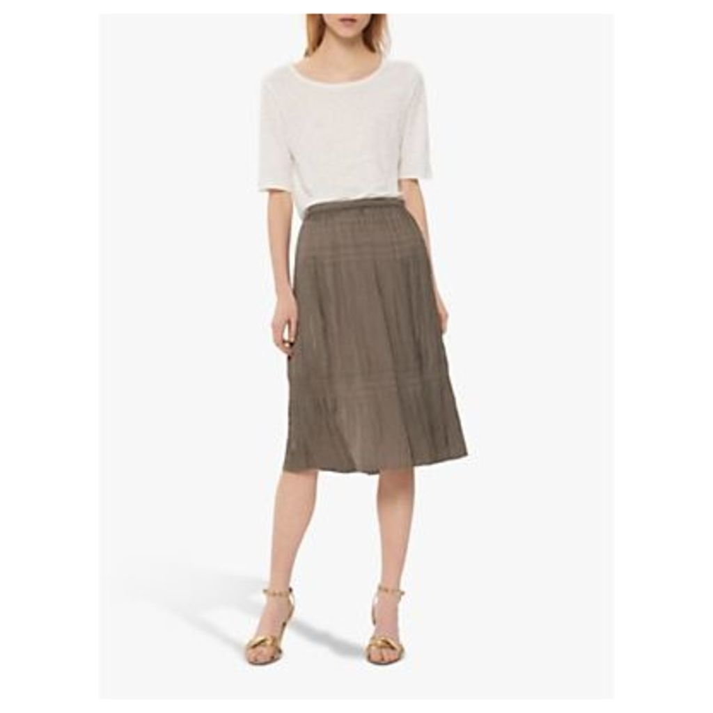 Gerard Darel Indra Midi Skirt, Khaki