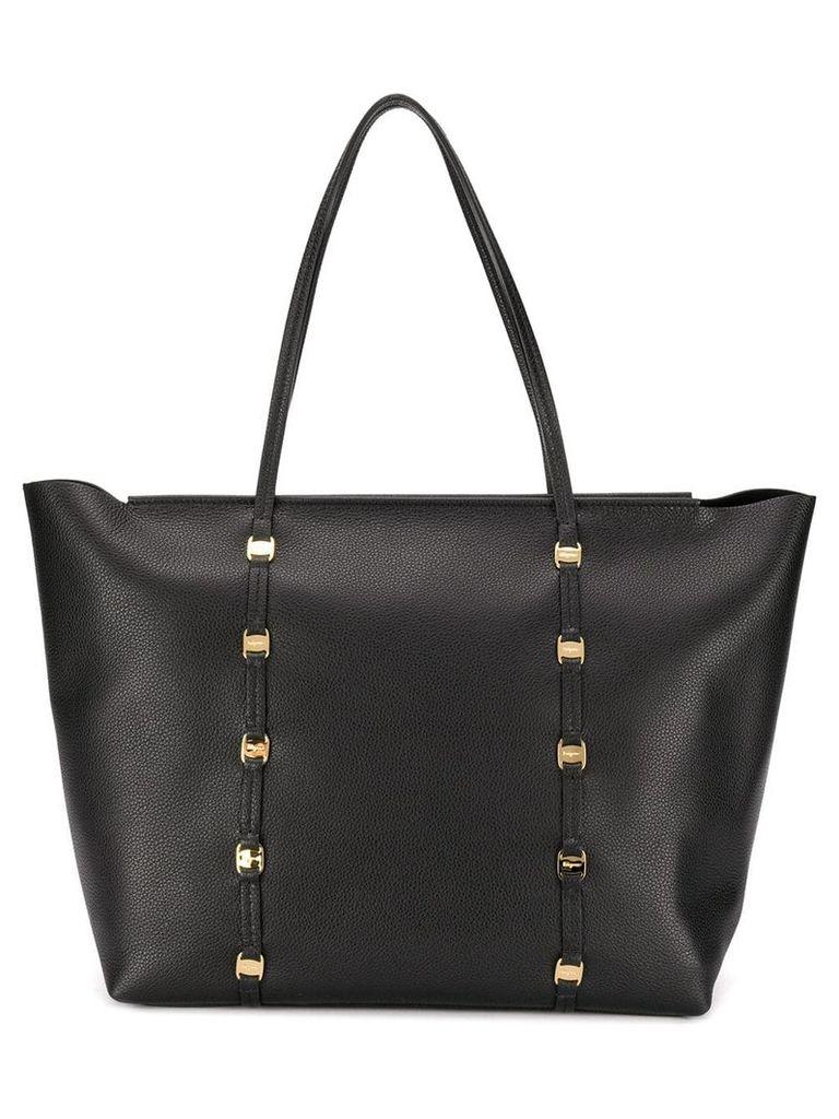 Salvatore Ferragamo Emotion Tote Bag - Black