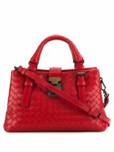 Bottega Veneta mini Intrecciato tote bag - Red