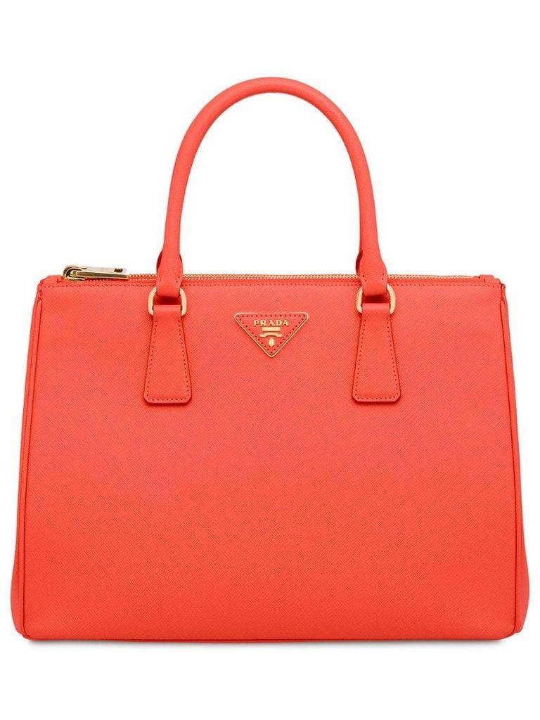 Prada Galleria Bag - Orange