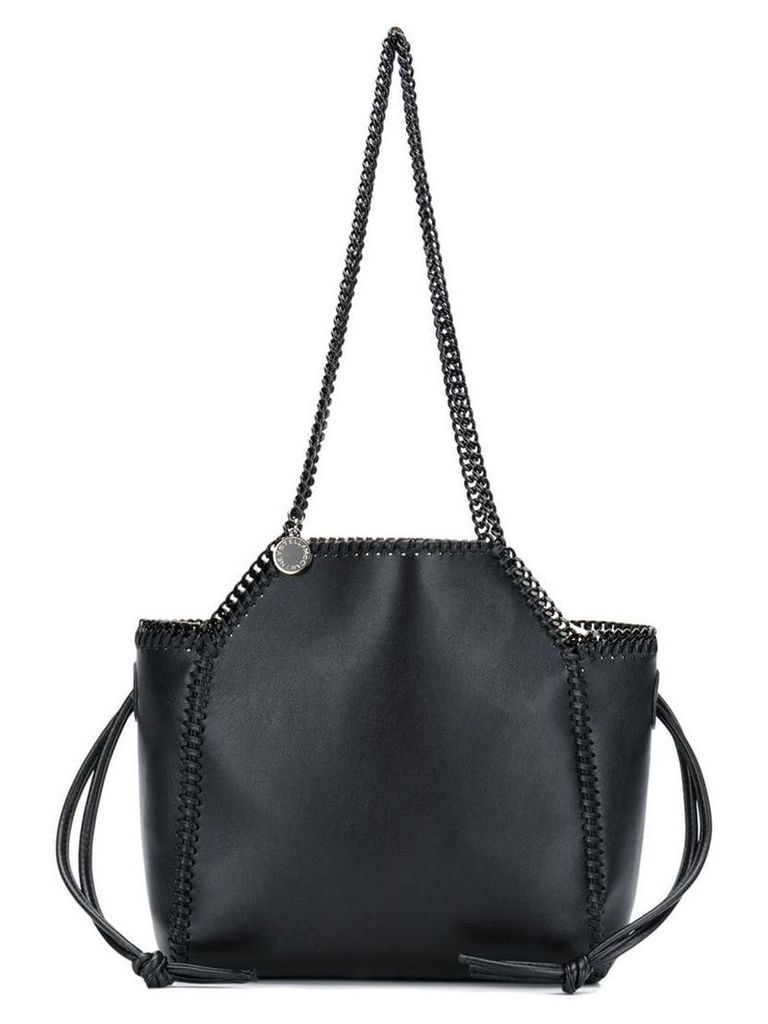 Stella McCartney Falabella fine chain tote - Black