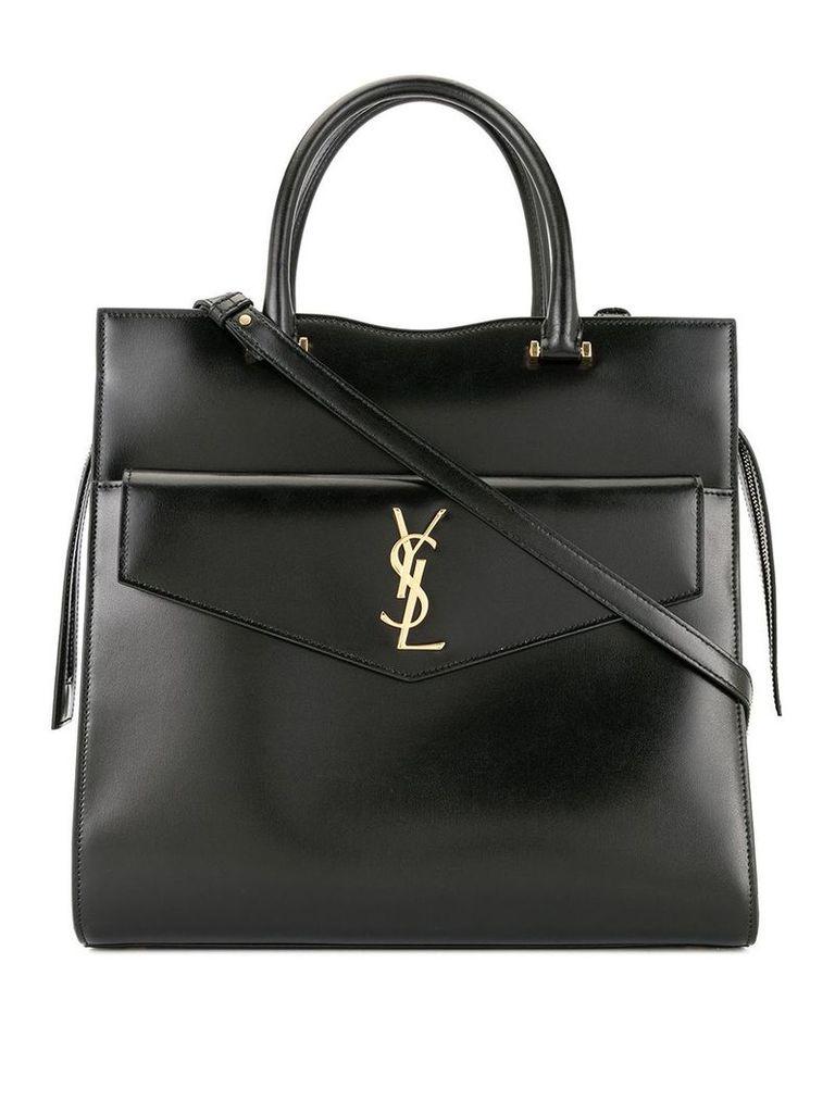 Saint Laurent large Uptown tote bag - Black