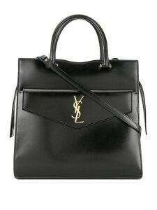 Saint Laurent large Uptown tote bag - Black