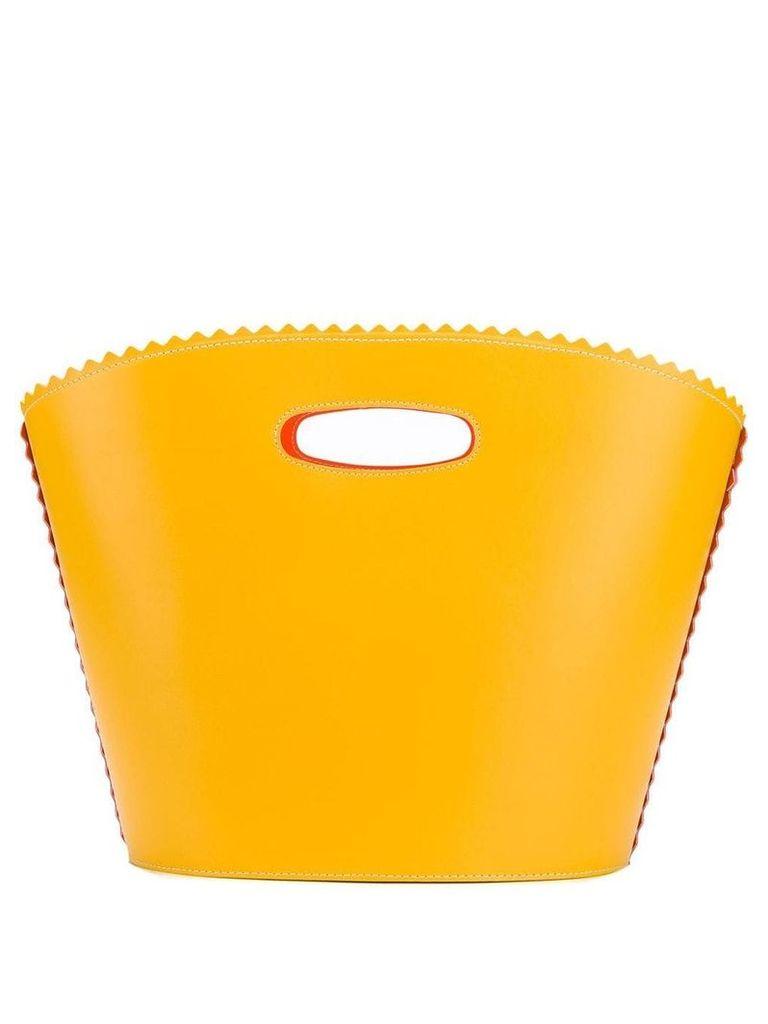 Sara Battaglia Helen beach bag - Yellow