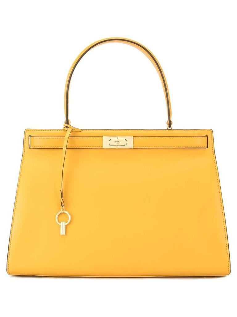 Tory Burch Lee Radziwill satchel - Yellow