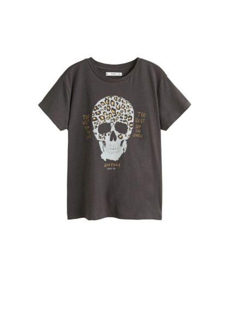 Organic printed cotton t-shirt