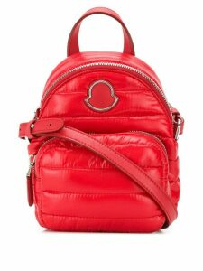 Moncler mini crossbody backpack - Red