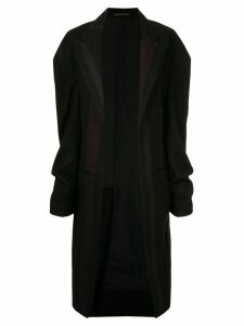Yohji Yamamoto Pre-Owned deconstructed long coat - Black