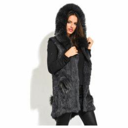 Univers Du Luxe  Jacket  women's Coat in Grey