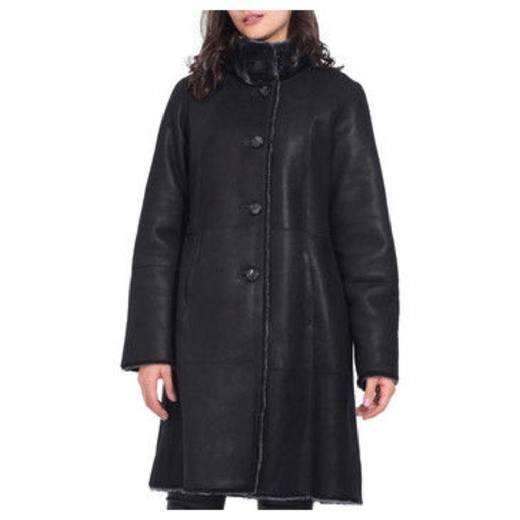 Univers Du Luxe  Coat  women's Coat in Black