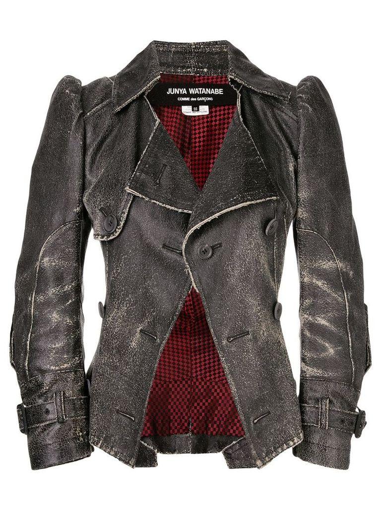 Junya Watanabe Comme Des Garçons Vintage worn out fitted jacket -