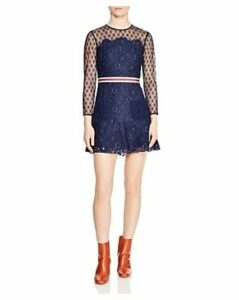 Sandro Alicia Lace Mini Dress