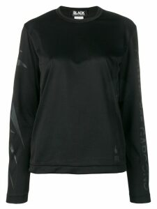 Comme Des Garçons long-sleeve fitted top - Black