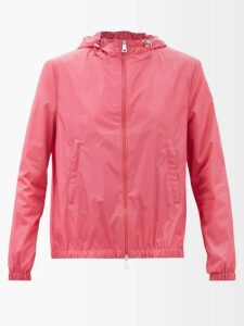 Gül Hürgel - Geometric Print Linen Midi Dress - Womens - Red Print