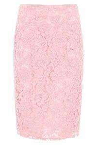 Valentino Midi Lace Skirt