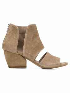 Officine Creative Blanc ankle sandals - Brown