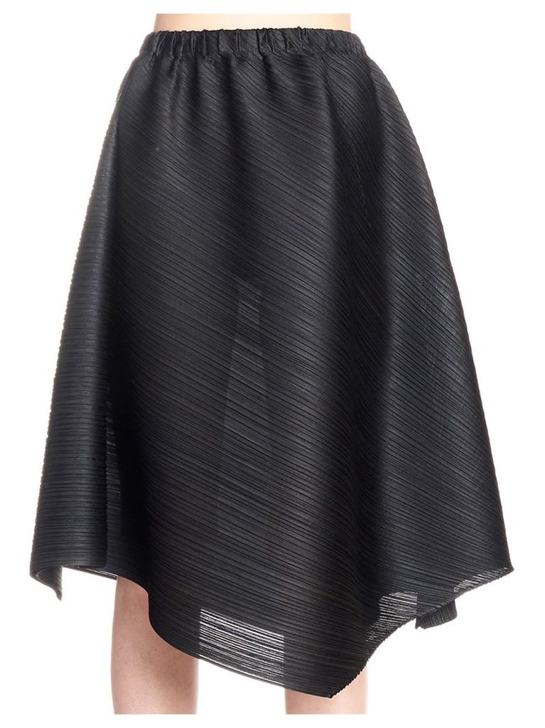 Pleats Please Issey Miyake 'cross Grain' Skirt