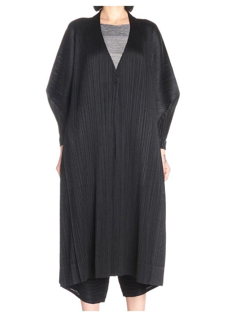 Pleats Please Issey Miyake 'stilted Form' Cardigan