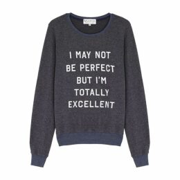 Wildfox Totally Excellent Fleece Sweatshirt