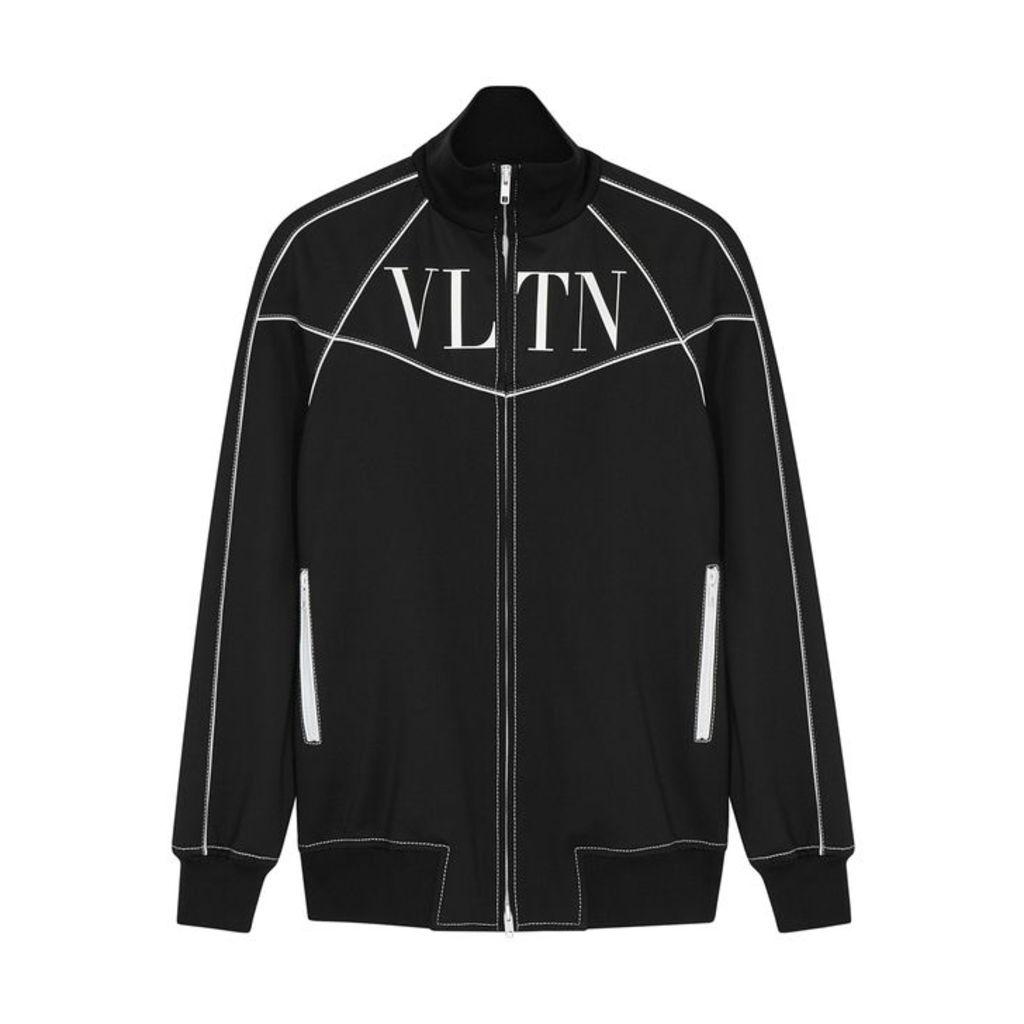 Valentino VLTN Logo-print Jersey Jacket