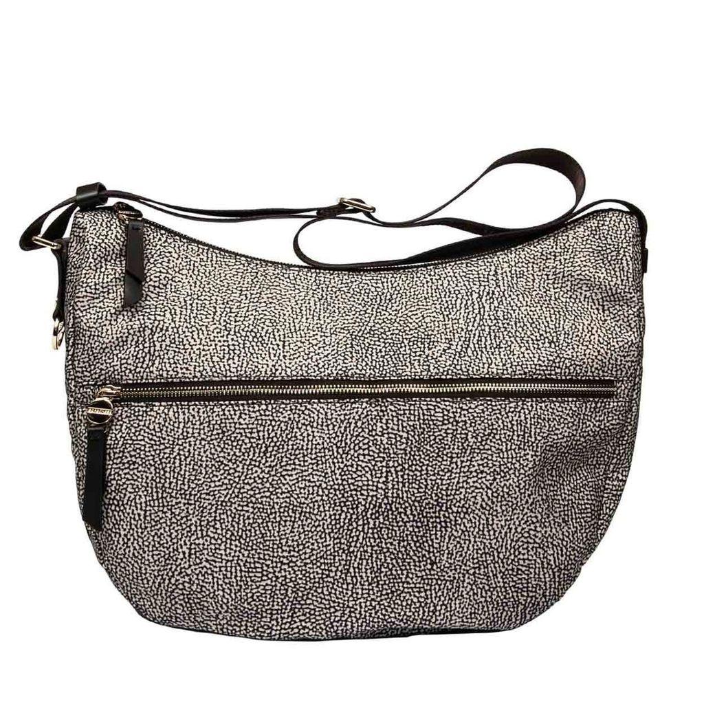Borbonese Medium Luna Bag With Pocket