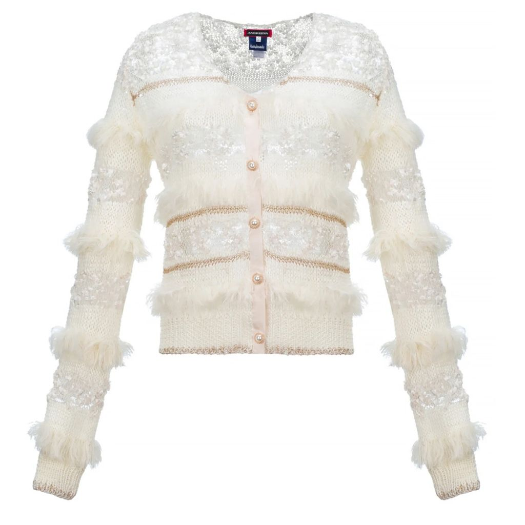 WtR - Misty Black Statement Sleeve Silk Shirt