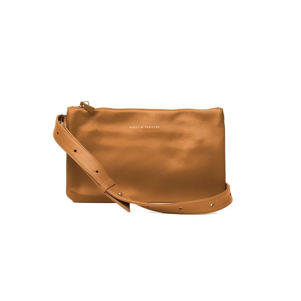 Holly & Tanager - Companion Mini Crossbody Clutch In Caramel