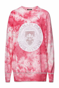 Balmain Tie Dye Pullover with Wool and Cashmere
