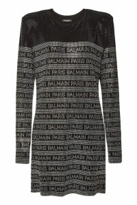 Balmain Embellished Mini Dress