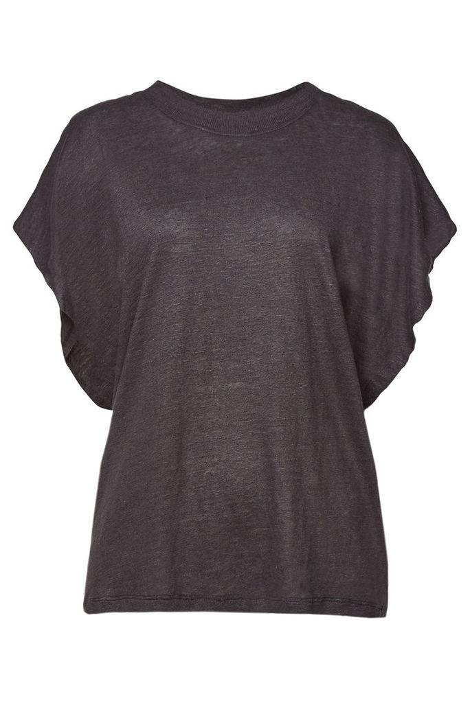 Iro Beaming Destroyed Linen Top
