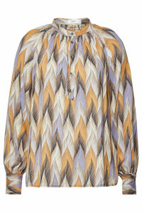 Closed Rosi Printed Blouse with Silk