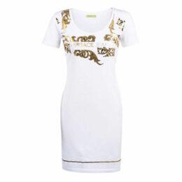 Versace Jeans  D2HTA423-36262  women's Dress in White