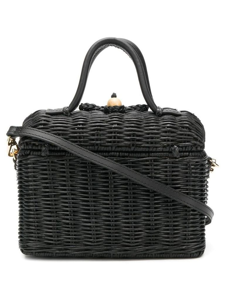 Ulla Johnson Perle lunchbox bag - Black