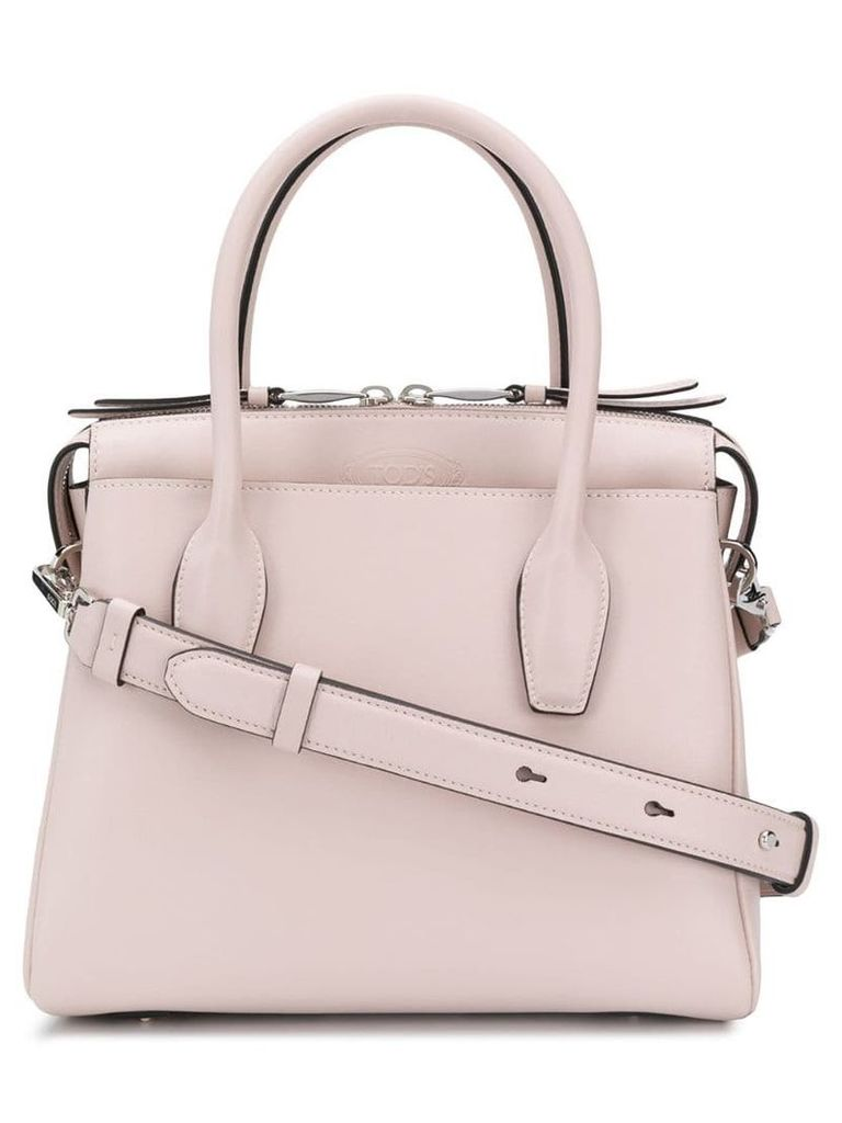 Tod's mini tote bag - Neutrals