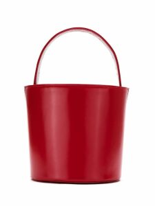 Sarah Chofakian leather bucket bag - Red