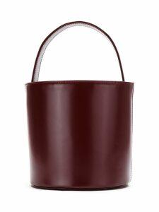 Sarah Chofakian leather bucket bag - Red