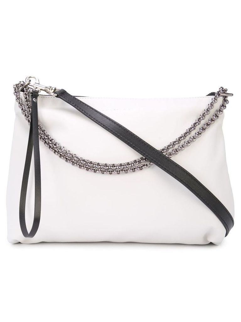 Barbara Bui chain shoulder bag - White