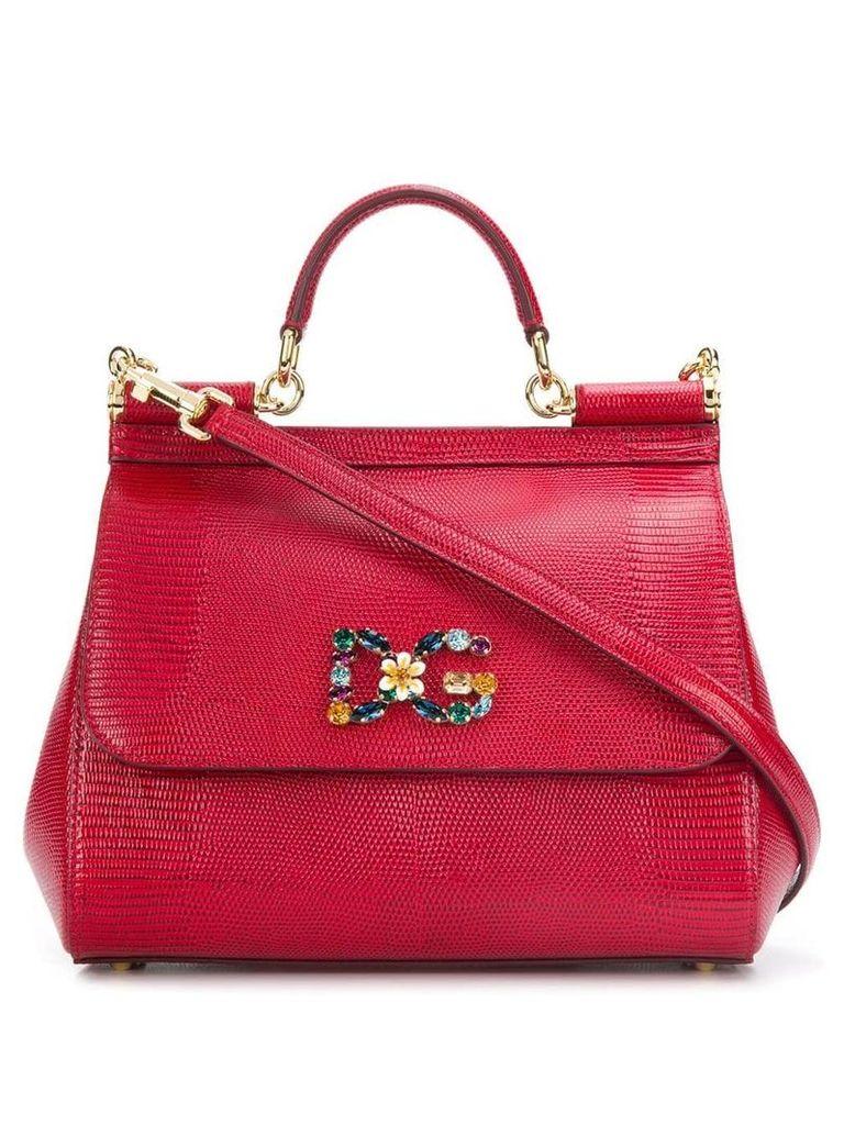 Dolce & Gabbana medium Sicily tote - Red