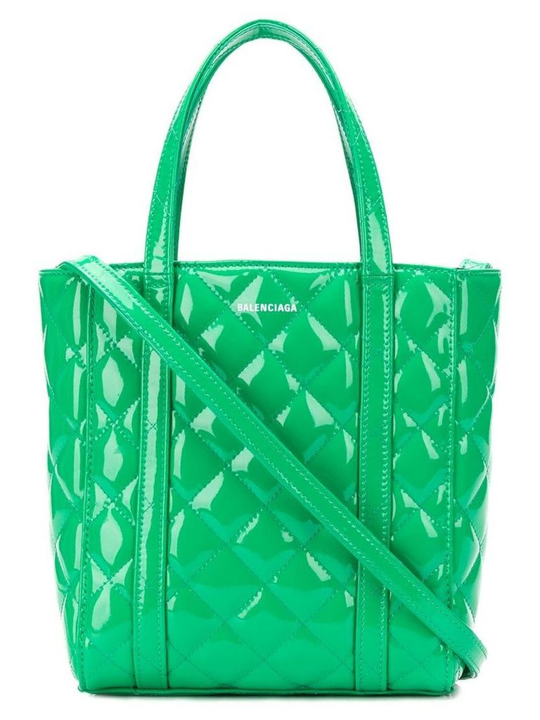 Balenciaga Everyday XS quilted tote bag - Green