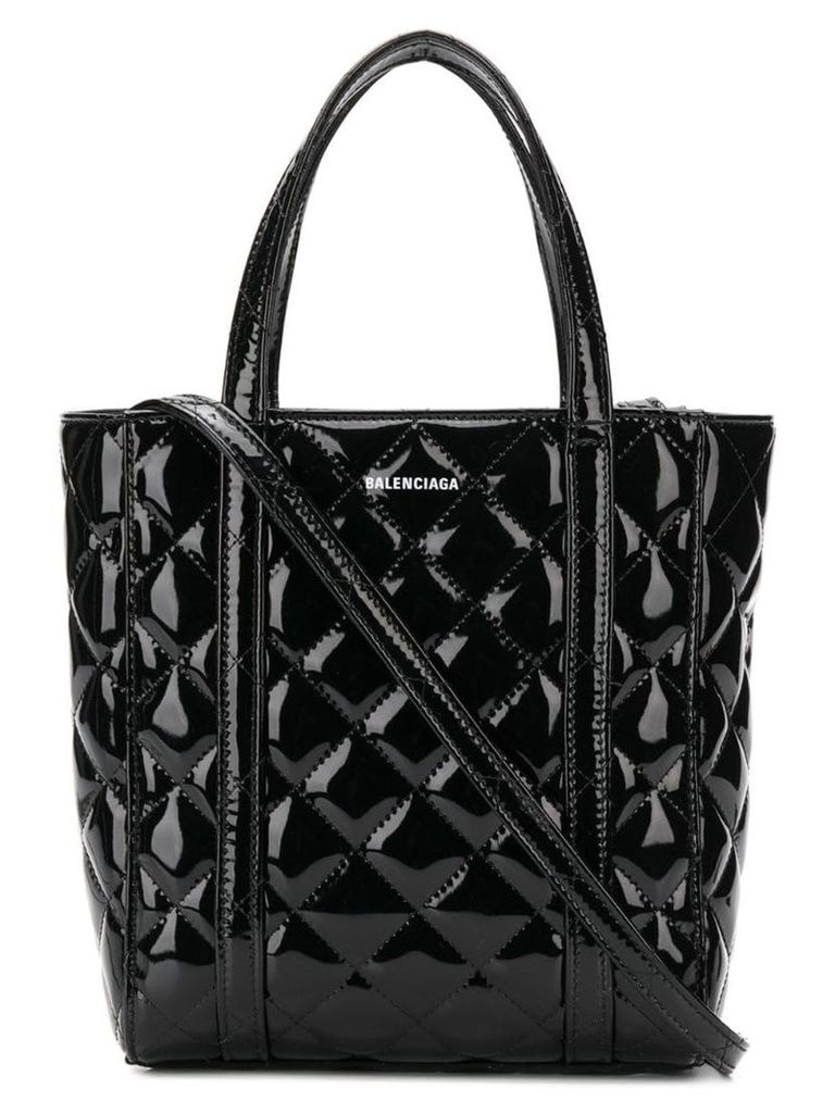 Balenciaga Everyday XS quilted tote bag - Black