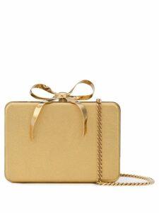 Oscar de la Renta present box clutch - Gold