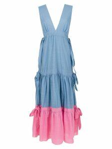 Clube Bossa Bourgen maxi dress - Blue