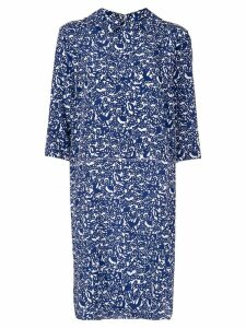 Marni Lylee crepe dress - Blue