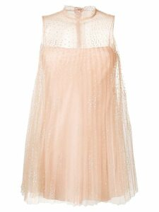 Red Valentino polka-dot tulle dress - Neutrals